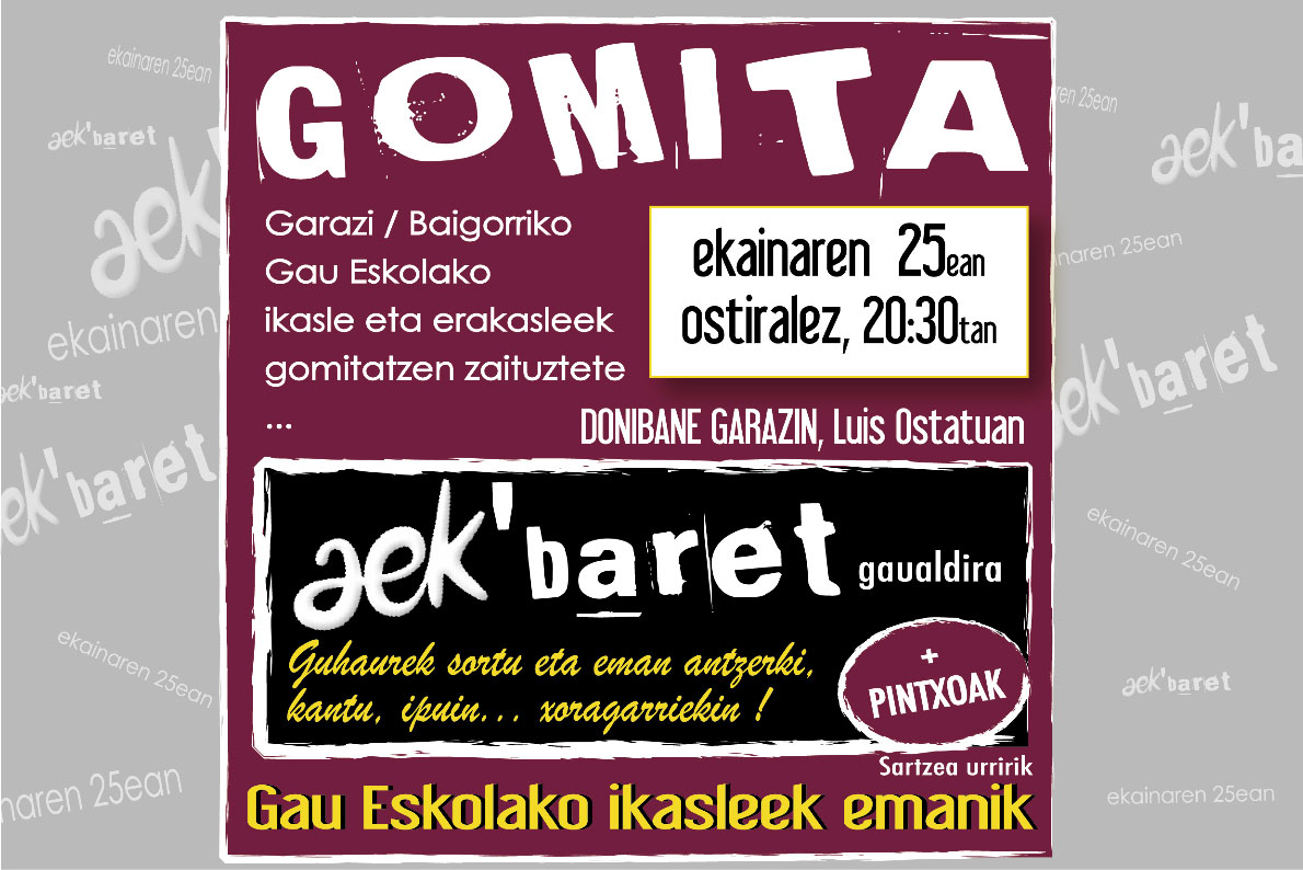 aekbaret � institut culturel basque