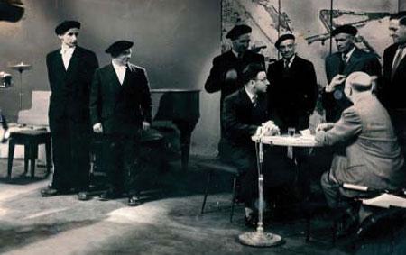 Concours de bertsularis à Paris en 1958